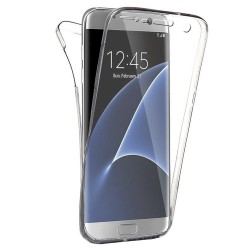 Galaxy S7 Edge 360 Silicone Case Rear and Front - Transparent