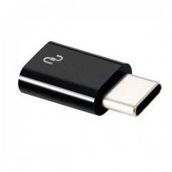 Adaptador Original Xiaomi Micro USB a USB Tipo C, Negro