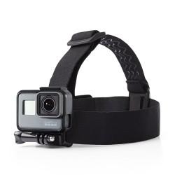 Soporte Montura con correas Elasticas para la cabeza para camara GoPro