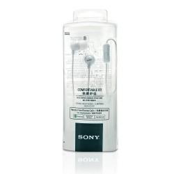 Auriculares Original Sony MDR-EX15AP para Xperia Z2, Z3, Z5, Compact, X, XZ, XA, E5, Blanco, Blister