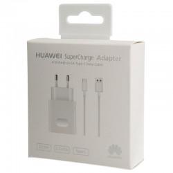 Cargador Original Huawei AP81 Super Charge 5A Carga Rapida  Tipo C  para P9, P10, Mate 9, Honor 5C, 8, Nova, Blister
