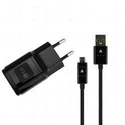 Cargador Original LG MSC-01ET 1,2 A + Cable USB Negro