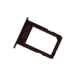 Repuesto Bandeja Tarjeta Sim + Micro Sd / Dual Sim para Samsung Galaxy J7 2017, J5 2017 Negro, Bulk