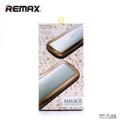 Bateria Externa - Power Bank REMAX  RPP-35 -5500mAh - Rosa/Dorado- Blister