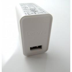 Cargador Original Lenovo C-P36 10W ( 5.2V 2A ) para Smartphone, Tablet, Blanco, Bulk