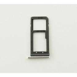 Bandeja Tarjeta Sim + Micro SD para Samsung Galaxy S7 Edge Negro