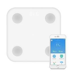 Báscula Xiaomi Mi Smart Digital 2 XMTZC02HM Bluetooth App Control (Peso Gran Precisión, Medidor Grasa Corporal)