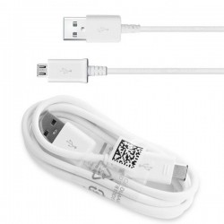 Cable Original Samsung ECB-DU5ABE Micro-USB para Galaxy J1, J2, J3, J5, J7, A3, A5, A7, Grand, Prime, S2, S3, S4, Negro, Bulk