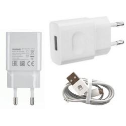 Cargador Original Huawei HW-050200E3W  + Cable para P6, P7, P8, Lite, Mate, G6, G7, G8