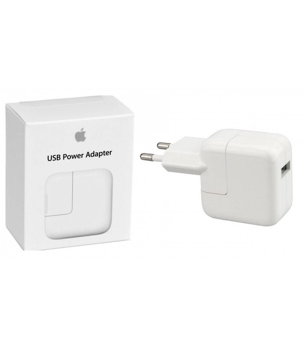 01e8f67ed99 Cargador de Red Original Apple MD836ZM/A 12W para iPhone, iPod, iPad, Air,  Mini, Pro - Blister