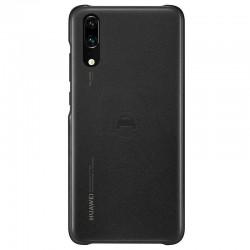 Funda Original Huawei Car Case para Huawei P20 (Chapa integrada para soporte magnetico) Negro
