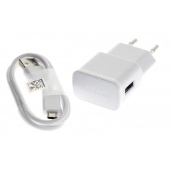 Samsung Original Charger EP-TA50EWE Micro-USB for Galaxy S4, S5, A3, A5, J1, J3, J5, J7, Core, Prime, Grand + Gift