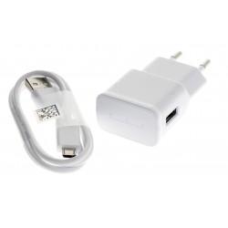 Cargador Original Samsung EP-TA50EWE Micro-USB para Galaxy S4, S5, A3, A5, J1, J3, J5, J7, Core, Prime, Grand + Regalo