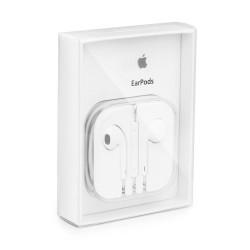 Auriculares EarPods Manos Libres MD827ZM Original para iPhone 5, 6, 6S, Plus, iPod, iPad, Blanco - Blister