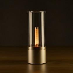 YEELIGHT YLFW01YL Lámpara LED de Noche Inteligente con Efecto Luz De Vela - Regulable - Con Batería Recargable