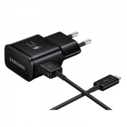 Original Quick Charger EP-TA20EBE (15W) USB-C for Galaxy S8, S9, S10, Note 9, A8, A30, A40, A50, A70, A80 (Blister) + Gift
