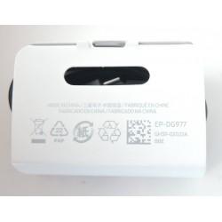 Câble d'origine Samsung EP-DG970BBE (150cm) USB-C pour Galaxy S10, S10 +, S10e, noir - En vrac + cadeau