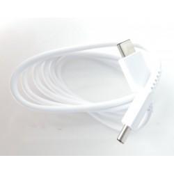 Original Cable EP-DG977BWE (1m) USB-C to USB-C for Galaxy S10 - White - Bulk