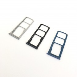 Replacement Sim Tray Compatible with Samsung A30 / A50 - Black