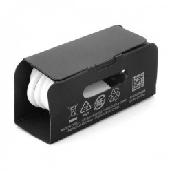 EP-TA200 (15W) QC 2.0 Quick Charger Original for Galaxy S10, S10 +, S10e - White -Bulk + Gift