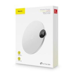 BASEUS BSWC-P21 10W Funk-Schnellladestation mit LED-Anzeige für Smartphone - Schwarz