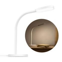 YEELIGHT YLTD01YL Lámpara de Escritorio Flexible Inteligente - Brillo Y Temperatura Regulables - Panel de Control Táctil