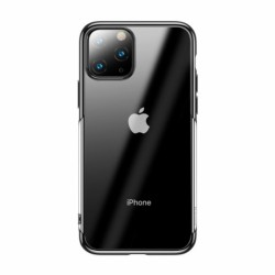 BASEUS Original Bright Edge Silicone Case for iPhone 11 Pro 5.8 Inch - Black