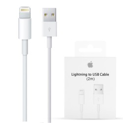Cable Original Apple MD819 USB a Lightning 2m