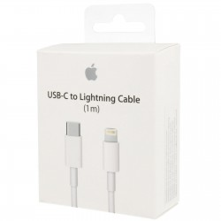Apple Cable USB Tipo C a Ligthning 1m Blanco