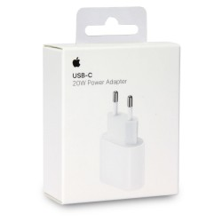 Apple USB Type-C 20W Power Adapter Travel Charger MHJE3ZM/A White