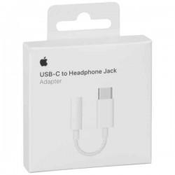 Apple MU7E2ZM/A Adaptador Original de USB-C a Toma para Auriculares de Jack 3,5 mm - Blister