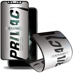 9H Mate Privacy Anti-espía Protector Pantalla Cerámico Flexible Mate - Anti Fractura - para iPhone