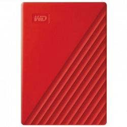"WD My Passport 4TB 2.5"" USB 3.1 Rojo"