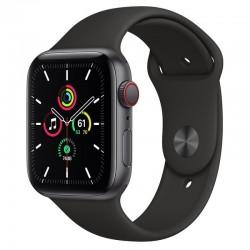 Apple Watch SE GPS 44mm Aluminio en Gris Espacial con Correa Deportiva Negra
