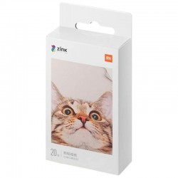 Xiaomi Papel Fotográfico para Impresora Xiaomi Mi Portable Photo Printer 20 Unidades