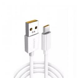 Cable de Datos D301 USB-C para OPPO, Compatible con Carga SUPERVOOC 65W - Blanco - Bulk