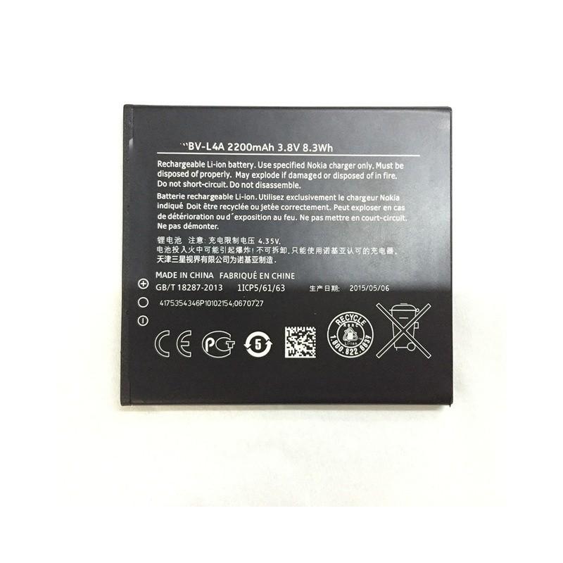 6b915df4d70 Bateria Original Nokia BV-L4A para Nokia Lumia 830, 2200mAh, Bulk