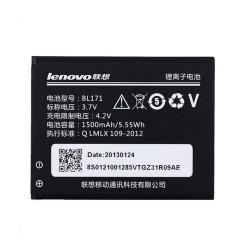 Bateria Original Lenovo BL171 para A60, A500, A65, A390, A368, A390T, 1500mAh, Bulk