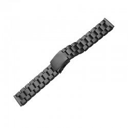 Repuesto Correa, Pulsera de Acero Inoxidable Stainless para Apple Watch 38mm, Negro