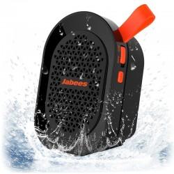 Altavoz Bluetooth Jabees beatBOX Mini Resistente al Agua - Negro/Naranja