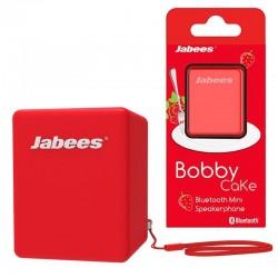 Altavoz Bluetooth Mini  JABEES Bobby Cake - Rojo